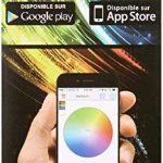 Lumisky - Ampoule LED connectée pilotable à distance via Smartphone ou tablette. LED basse consommation Multicolore RGB et BLANC (Chaud/froid) 6x6x11 cm de la marque LUMISKY image 3 produit