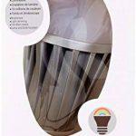 Lumisky - Ampoule LED connectée pilotable à distance via Smartphone ou tablette. LED basse consommation Multicolore RGB et BLANC (Chaud/froid) 6x6x11 cm de la marque LUMISKY image 1 produit