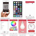 Lunvon Ampoule LED Bluetooth sans Fil Smart avec Haute Parleur 7 Couleurs Support Apple Android APP Contrôlé de la marque image 4 produit