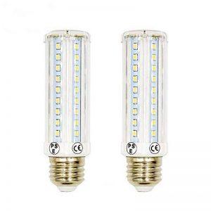 LuxVista 2-pcs 10W E27 T10 LED Ampoule tubulaire à Maïs avec 3 modes, 750 Lumens, remplacement de l'ampoule Halogène 75W (2800k Blanc chaud) de la marque Luxvista image 0 produit