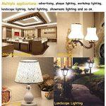 LuxVista 2-pcs 10W R7S J78 T3 78MM Haute luminosité 5730 Ampoule SMD LED, 1100 Lumens, remplacement 100W Halogène Ampoule(3000k Blanc chaud) de la marque Luxvista image 1 produit