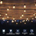 LVWIT 4W Ampoule LED Filament à Bayonnate G45 B22, 2700K Blanc Chaud, 470Lm, Ampoule Vintage, Non-dimmable, Lot de 6 de la marque LVWIT image 1 produit