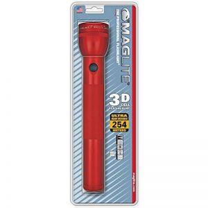 Mag-Lite S3D036 3 D-Cell Lampe Torche Métal Rouge 31,5 cm de la marque Mag-Lite image 0 produit
