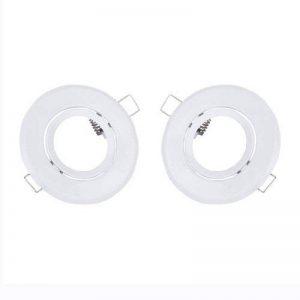 MagiDeal 2pcs Cadre Support de Ampoule LED Plafonnier Halogène Douille GU10 Douille MR16 de la marque MagiDeal image 0 produit