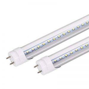 Maidodo 10X T8 G13 LED Tubes Fluorescents Lampe Fluorescente 150cm 24W 2160LM 120SMD Blanc Froid 6000-6500K Couverture Blanche de la marque Maidodo image 0 produit