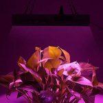 maiicy Lampe pour Plantes à LED 300 W Spectre Lumineux de 300 W - Lampe Suspendue avec UV IR pour Les installations à Eau de Serre, la Vase et la Fleur. de la marque maiicy image 3 produit