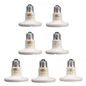 MASUNN Diamètre 80Mm Blanc Infrarouge En Céramique Émetteur De Lumière Chaleur Ampoule Pour Reptiles Animaux De Compagnie Couveuse Ac220V - 75W de la marque MASUNN image 0 produit