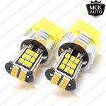 MCK Auto - AB4R3 - Ampoule LED T20CANbus ambre 7440pour clignotants et feux arrières - remplacez vos ampoules trop faibles par ces merveilles à LED de la marque MCK Auto image 2 produit