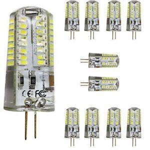 mengjay® Lot de 10ampoules halogènes G4LED Lampe perles, remplace 50W kaltesweiß 6000K AC 220–240V 5W 320LM 64SMD 3014LED Angle Ampoules LED ampoule 360°, G4, 5.00 wattsW, 220.00 voltsV de la marque Mengjay image 0 produit