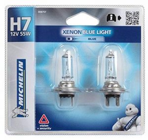 Michelin 008757 Blue Light 2 Ampoules H7 12 V 55W de la marque Michelin image 0 produit