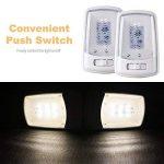 Mictuning Plafonniers LED à Dôme Unique 12V avec Interrupteur, Remplacement Intérieur pour Camping-Car RV Caravane Camping-Car (Blanc Chaud) de la marque Mictuning image 3 produit