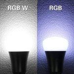 Minger 10W Ampoules LED RGBW (Rouge Vert Bleu et Blanc) Changement de Couleur Dimmable LED Bulbs E27 Magique Lampes d'ambiance avec Télécommande Sans Fil de la marque Minger image 4 produit
