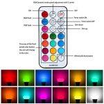 Minger 10W Ampoules LED RGBW (Rouge Vert Bleu et Blanc) Changement de Couleur Dimmable LED Bulbs E27 Magique Lampes d'ambiance avec Télécommande Sans Fil de la marque Minger image 2 produit