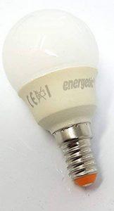 Mini ampoules à économie d'énergie E14, blanc chaud, 290lumens, 2700K, 10000heures, 7W de la marque ENERGETIC image 0 produit