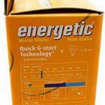Mini ampoules à économie d'énergie E14, blanc chaud, 290lumens, 2700K, 10000heures, 7W de la marque ENERGETIC image 2 produit
