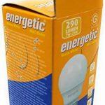 Mini ampoules à économie d'énergie E14, blanc chaud, 290lumens, 2700K, 10000heures, 7W de la marque ENERGETIC image 3 produit