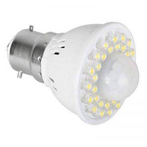 MiniSun BC B-22 à baïonnette. PIR Détecteur de mouvements Infrarouge avec ampoule à LED Intégré de la marque MiniSun image 0 produit
