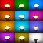 Minkle 10W Ampoules LED RGB Changement de Couleur Dimmable LED Bulbs E27 Lampes d'ambiance avec Télécommande Sans Fil, RGB+blanc de la marque Minkle image 1 produit