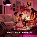 Minkle 10W Ampoules LED RGB Changement de Couleur Dimmable LED Bulbs E27 Lampes d'ambiance avec Télécommande Sans Fil, RGB+blanc de la marque Minkle image 2 produit