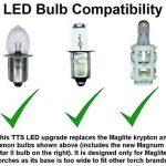 Mise à niveau TTS Maglite LED pour 3 à 6 D et C Cell Torch. Conversion la plus brillante actuellement disponible. de la marque TheTorchSite image 3 produit