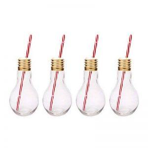 Mixology Lot de 4 verres style ampoules Edison de la marque Mixology image 0 produit