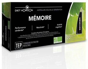 Mémoire bio - ampoules nouvelle génération - 20 ampoules de la marque Diet Horizon image 0 produit