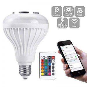 MMRM Bluetooth Sans Fil Ampoule Musique Orateur Smart E27 LED RGB Lampe Ampoule Lecteur de Musique de la marque MMRM image 0 produit