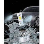 Modoca 2 x H7 LED Phares Voiture Ampoules, 110W, IP68 Etanche, H7LED phares Ampoules 11000LM Super Bright 6500K lumière Blanche Ampoules de la marque Modoca image 3 produit