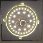 Module LED, kit de conversion pour plafonnier, lampe à tube rond., 18 Watt, warmweiß, 2G10 18.00W 230.00V de la marque PB-Versand image 4 produit