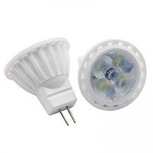 MR11 GU4 ampoules spot LED MR11 4W équivalent à 35 W en ampoule halogène 350 lm Blanc froid 6000K-6500K Angle de faisceau 30 ° Lot de 6 de la marque 1819 image 0 produit