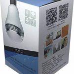 Msc Nouveau Haut-parleur sans fil Bluetooth e27B22& 4.0Smart LED Night Light playbulb Audio Musique RVB Lamp- Smartphone application gratuite controlled- Variateur d'intensité Multicolore LED display-one poche Monstres pour votre Parti Exclusif -- GARA image 1 produit