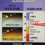 Mtec modèle H7 55W superwhite Lot de deux ampoules halogènes pour phares de véhicules de la marque Mtec image 4 produit