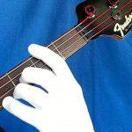 Musician Practice Glove Lot de 2gants pour guitare, basse et musicien, convient à la main gauche ou droite Extra-Small peau de la marque Musician Practice Glove image 1 produit