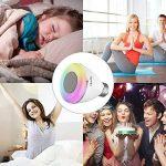 Musique Ampoule, Haofy E27 Ampoule LED Bluetooth 4,0 avec Haut-Parleur,Ampoule à Led Intelligente APP Contrôle Télécommande Compatible avec iPhone iOS, Android Smartphone pour Festival Parti Lumière de l'atmosphère de la marque Haofy image 4 produit