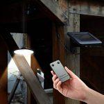 mvpower Lampe solaire LED lumière ampoule Portable Lampe pendentif avec panneau solaire pour éclairage garage depot chambre de la marque mvpower image 2 produit