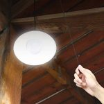 mvpower Lampe solaire LED lumière ampoule Portable Lampe pendentif avec panneau solaire pour éclairage garage depot chambre de la marque mvpower image 3 produit