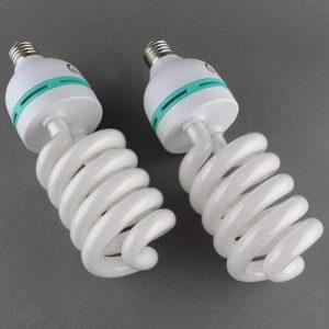 MVpower Lot de 2 x 135W E27 Ampoules Lampe de Photographie Lumière du Jour pour Photo Studio Vidéo Daylight Bulb 220V 5500K (2 Pcs) de la marque Mvpower Deckey image 0 produit