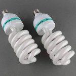 MVPOWER Lot de 2 x 135W E27 Ampoules Lampe de Photographie Lumière du Jour pour Photo Studio Vidéo Daylight Bulb 220V 5500K (2 Pcs) de la marque MVPower image 4 produit