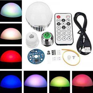 MYAMIA Télécommande RGB Lumière Pwm Bricolage Flash LED Kit Microcontrôleur Commande Ampoule de la marque image 0 produit