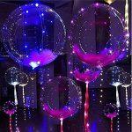 Mystery&Melody Le ballon de Bobo de LED allume des décorations réutilisables de lampes pour des lumières de chaîne lumineuses de fête d'anniversaire de festival (10PCS) de la marque Mystery&Melody image 2 produit