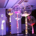 Mystery&Melody Le ballon de Bobo de LED allume des décorations réutilisables de lampes pour des lumières de chaîne lumineuses de fête d'anniversaire de festival (10PCS) de la marque Mystery&Melody image 3 produit