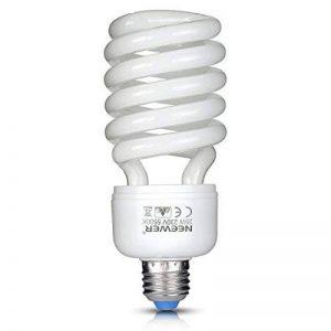 Neewer Ampoule Spirale Fluorescentes Triphosphore - 35 W - 220 V - 5500 K - Lumière du jour - Culot E27 - Pour éclairage de Studio Photo et Vidéo de la marque Neewer image 0 produit