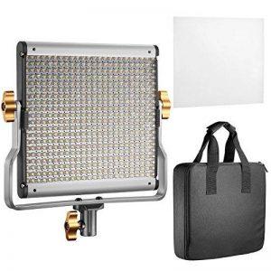 Neewer LED Vidéo Light Bi-Color avec kit de Support de U Réglable pour Studio, Tournage Vidéo Youtube, 480 ampoules LED, 3200-5600K, CRI 96+ (prise UE) de la marque Neewer image 0 produit