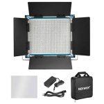 Neewer Lumière Panneau LED Bicouleur Lampe Vidéo pour Studio, Youtube, Photographie de Produit, Tournage Vidéo, 660 Ampoules Réglables, avec Support en U et Coupe-Flux, 3200-5600K, CRI 96+ (Bleu) de la marque Neewer image 1 produit