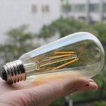 Énergie Industrielle Nouvelle Génération Edison économiseur D'énergie LED E27 Ampoule 4W Chaud Jaune 300LM de la marque ruist-eu image 4 produit