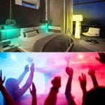 NetBoat E27 Ampoules LED RGBW (Rouge Vert Bleu et Blanc) Changement de Couleur Dimmable 3W LED Bulbs Screw Magique Lampes,Pack OF 4 de la marque NetBoat image 2 produit
