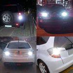 Ngcat 1200LM Xenon Blanc 1157ampoules LED très lumineux 48-smd 4014LED Garde toujours BAY15D 103411967528ampoules LED avec Vidéoprojecteur pour les lampes de signal Tail sauvegarde inversée Lights (lot de 2) de la marque NGCAT image 2 produit