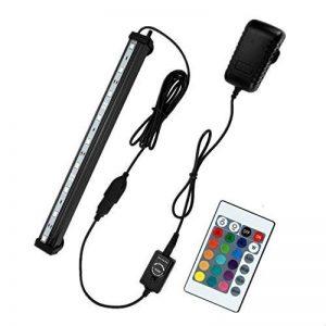 NONMON Aquarium LED RGB Lampe 23 CM Tube Hydrofuge Ampoule à Bulle Télécommande Pour Aquarium Poisson Puissance Maximale 3W de la marque NONMON image 0 produit