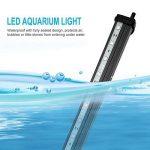NONMON Aquarium LED RGB Lampe 23 CM Tube Hydrofuge Ampoule à Bulle Télécommande Pour Aquarium Poisson Puissance Maximale 3W de la marque NONMON image 2 produit
