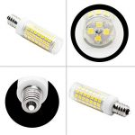 Nouveau type E14 ampoules LED 6 W équivalent à 75 W Ampoule halogène 95–240 V 360 degrés Blanc 6000 K (lot de 2) de la marque 1819 image 3 produit